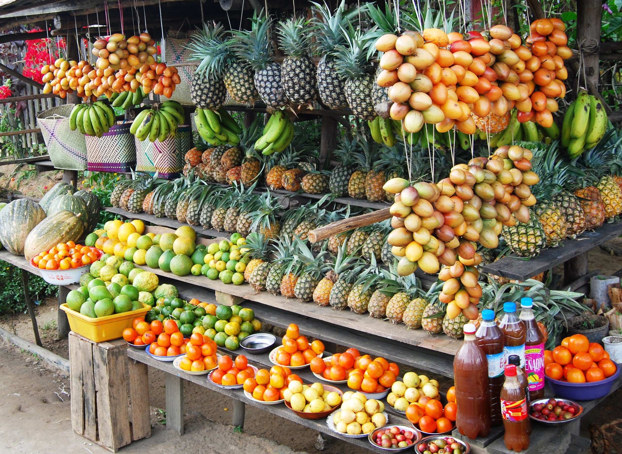 A whirlwind tour of the best shopping market in Antananarivo - Madagascar!
