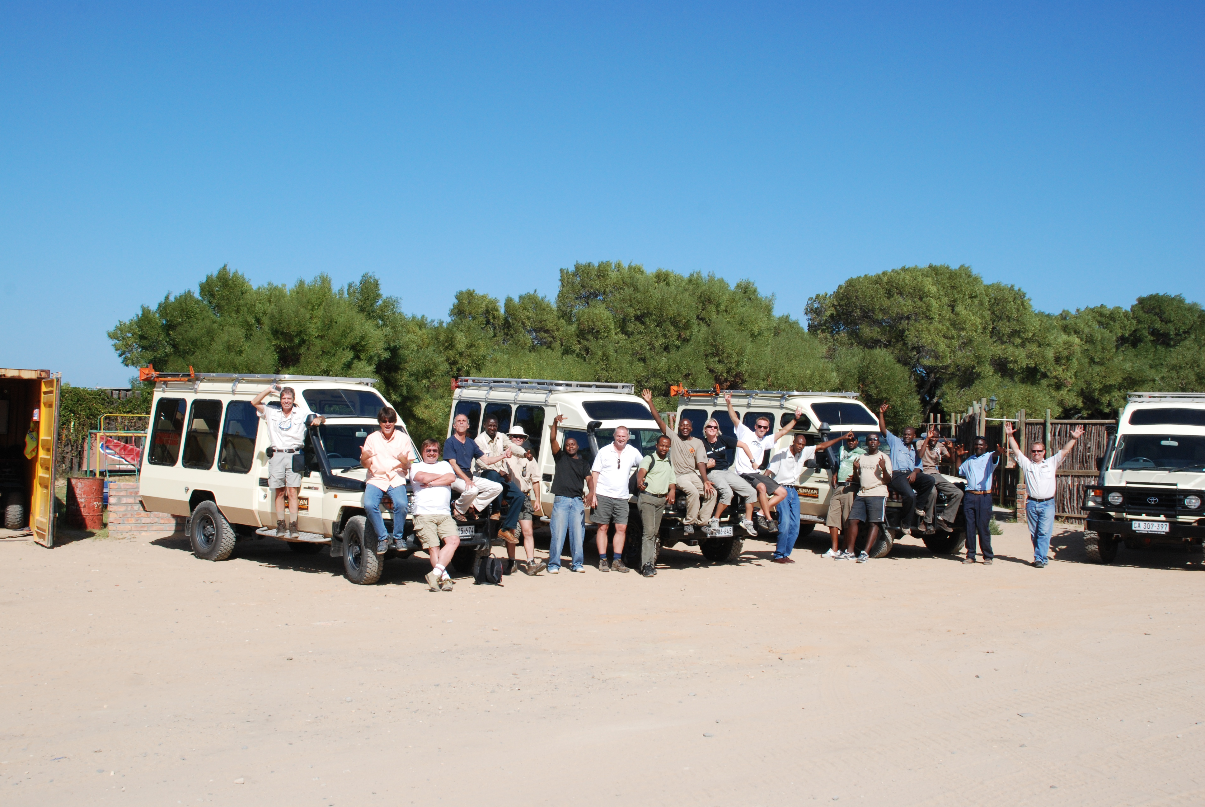 Jenman African Safaris – Guide workshop 2009 DAY 2 to 4 1