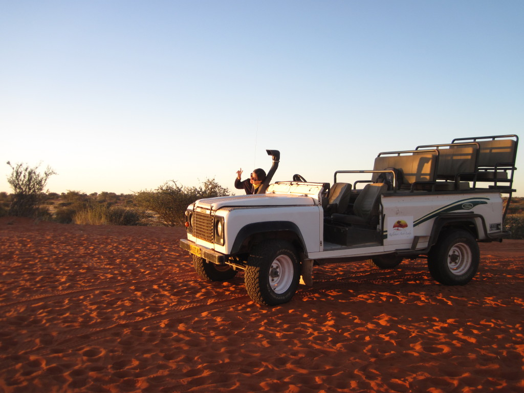 Exploring Namibia with Kirsty