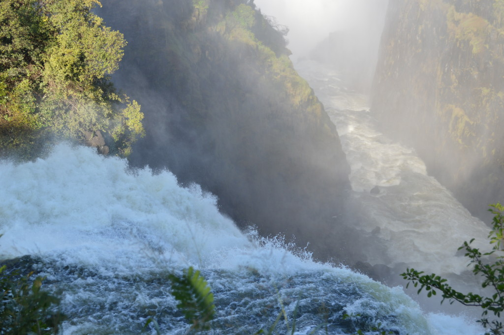 Paddling on the lip of Victoria Falls? Really? WOW!