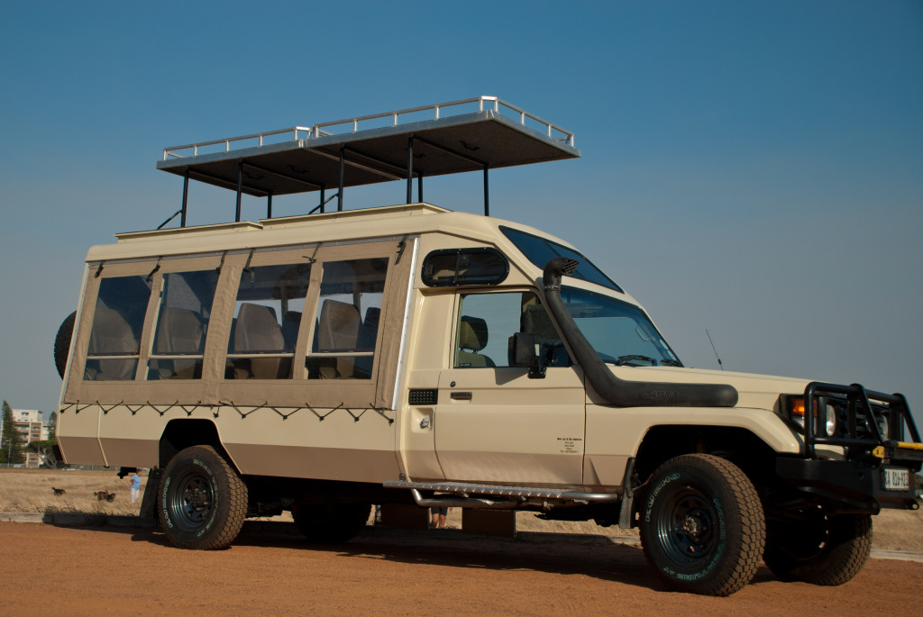 NEW 9-seater vehicle for Jenman East Africa – offering the best views on safari