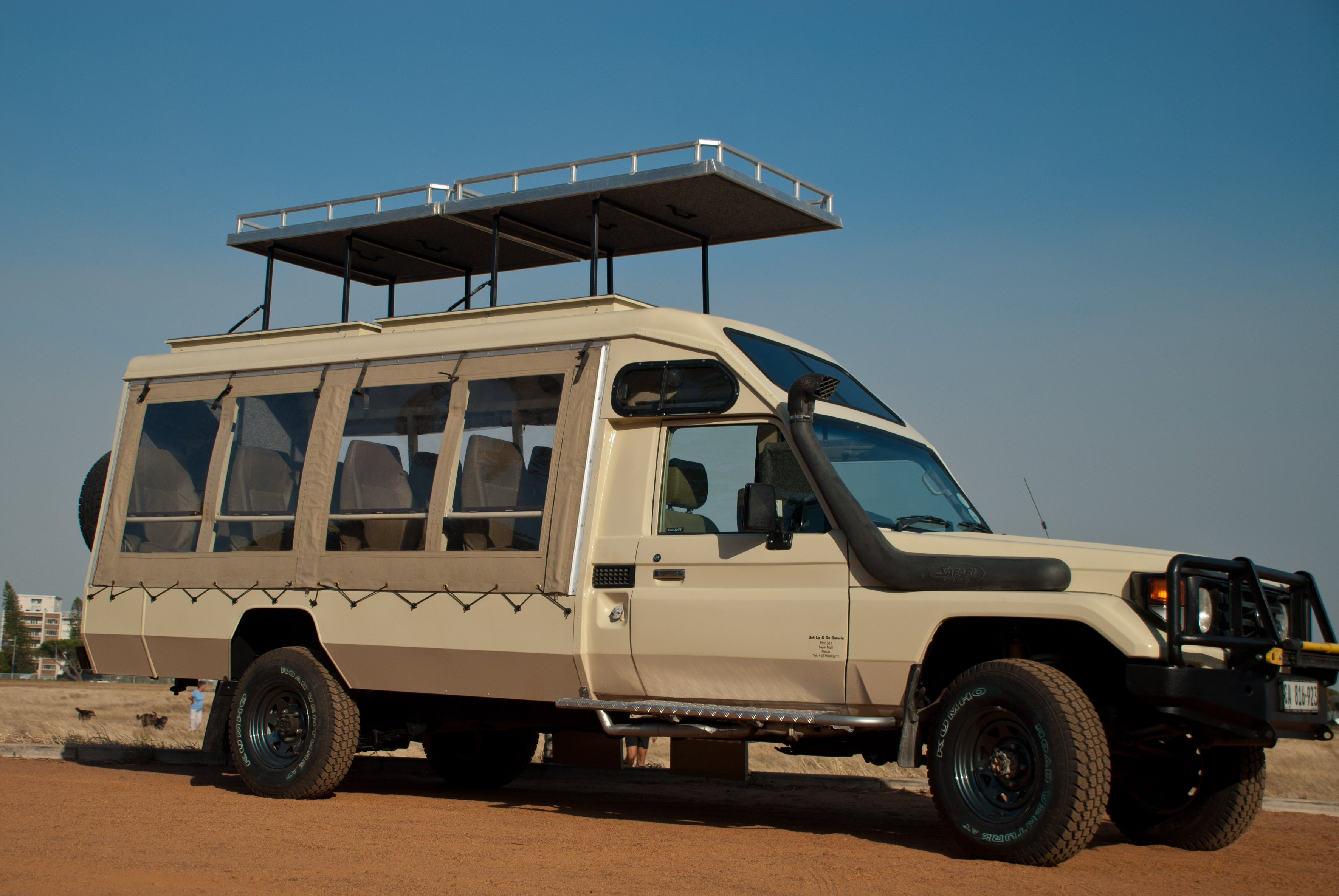 New 9 Seater Vehicle For Jenman East Africa Jenman