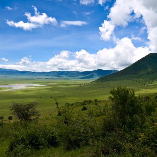 Inside the Ngoro Crater
