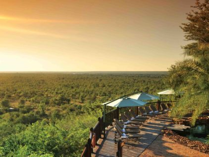 Victoria Falls Safari Lodge Sun Set