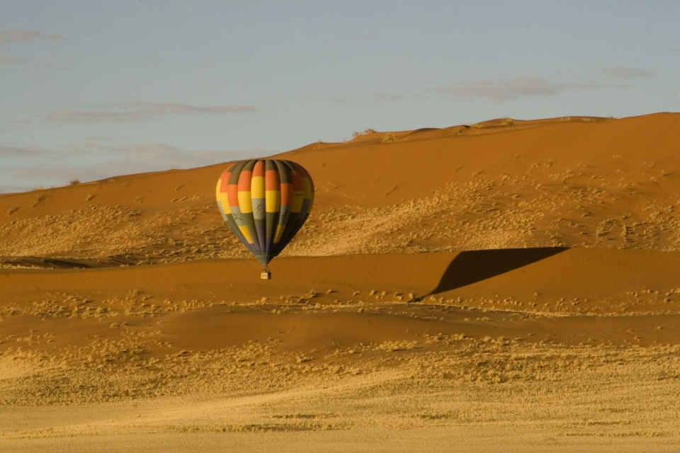 Balloon in Namibia - March 2014
