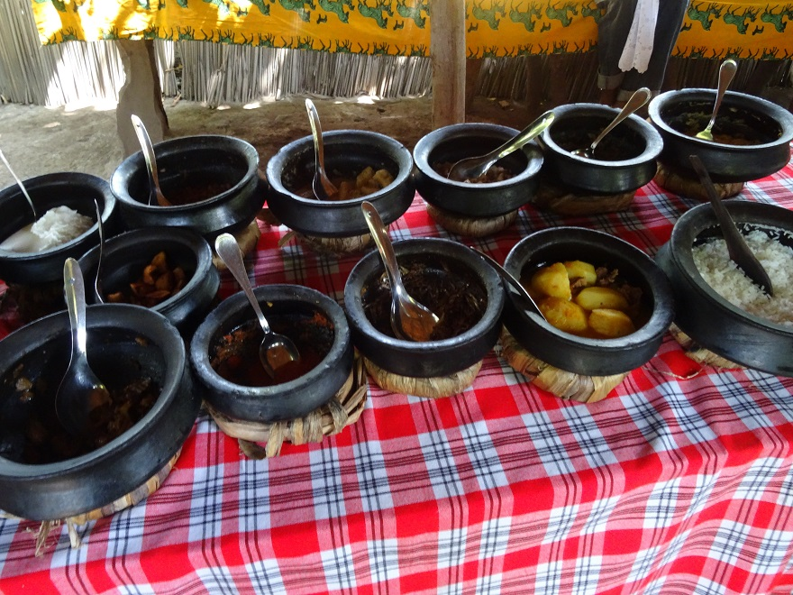 Tanzanian cuisine is varied and unique