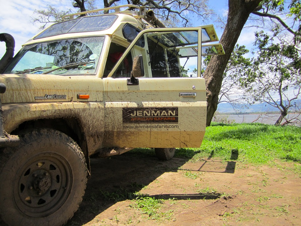 Jenman Safaris Vehicle