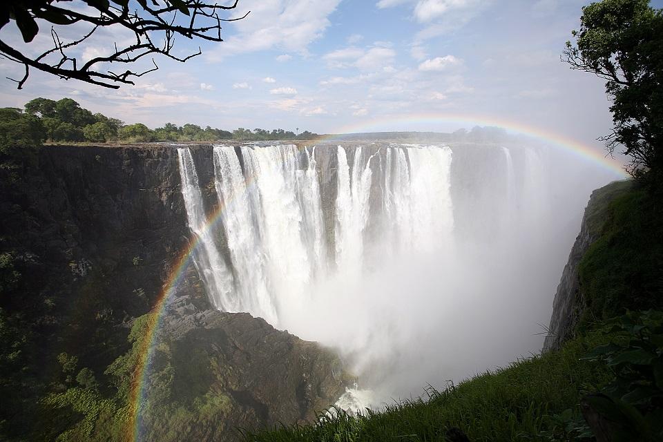Lunar Rainbow - Victoria Falls