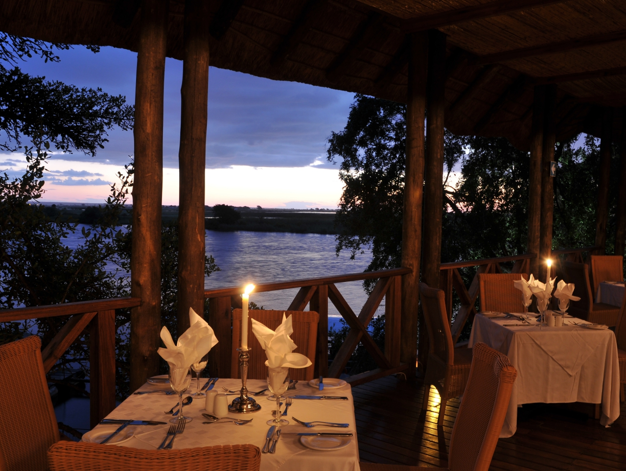 Chobe Marina Lodge - River View
