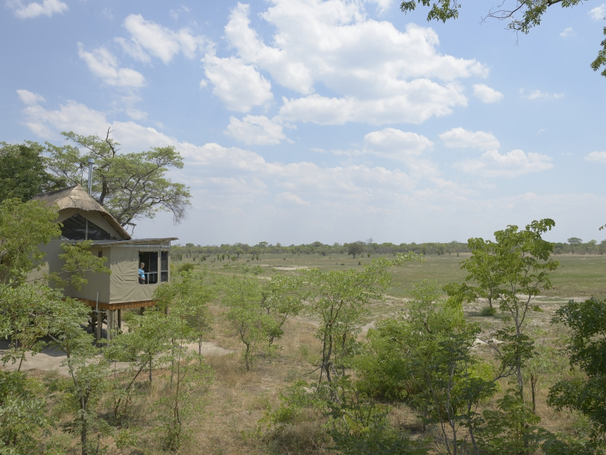 View from Elephant's Eye, Hwange National Park