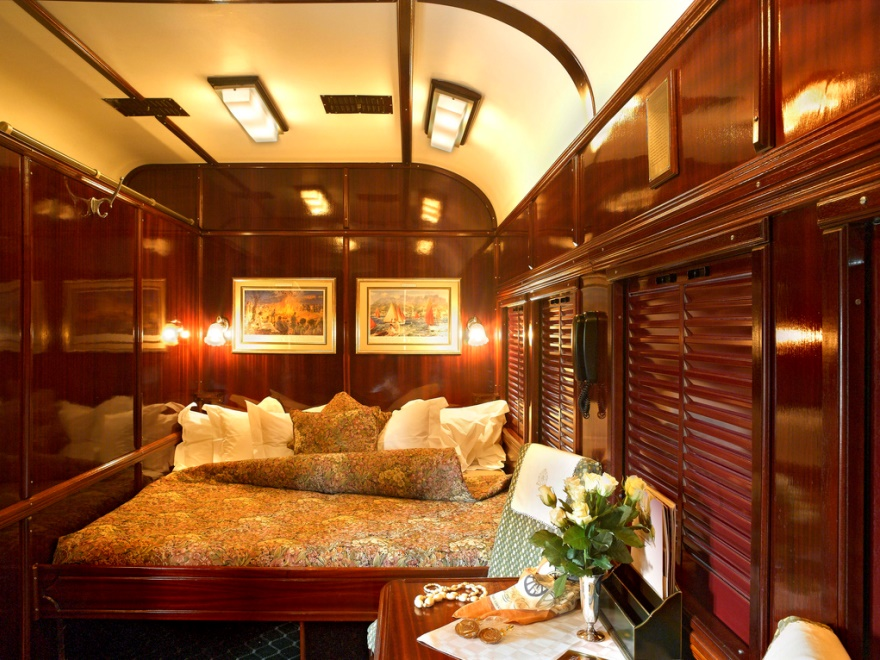 bedroom in Rovos Rail