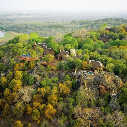 Arial view of Singita Pamushana Lodge