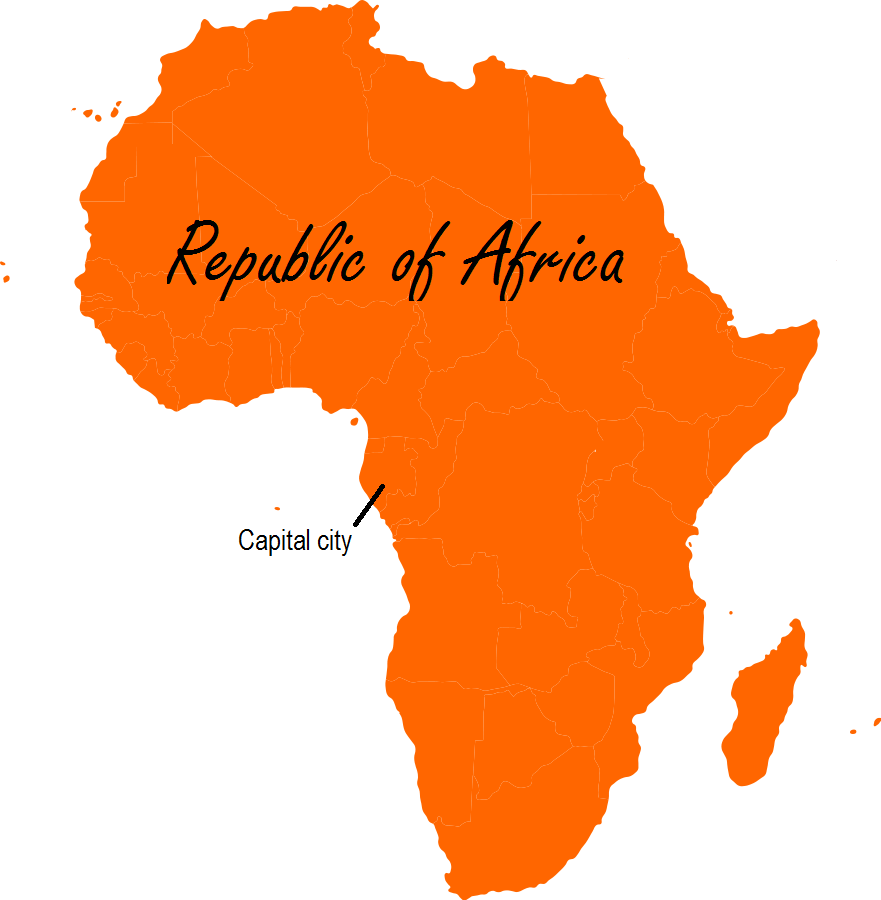 African as one continent