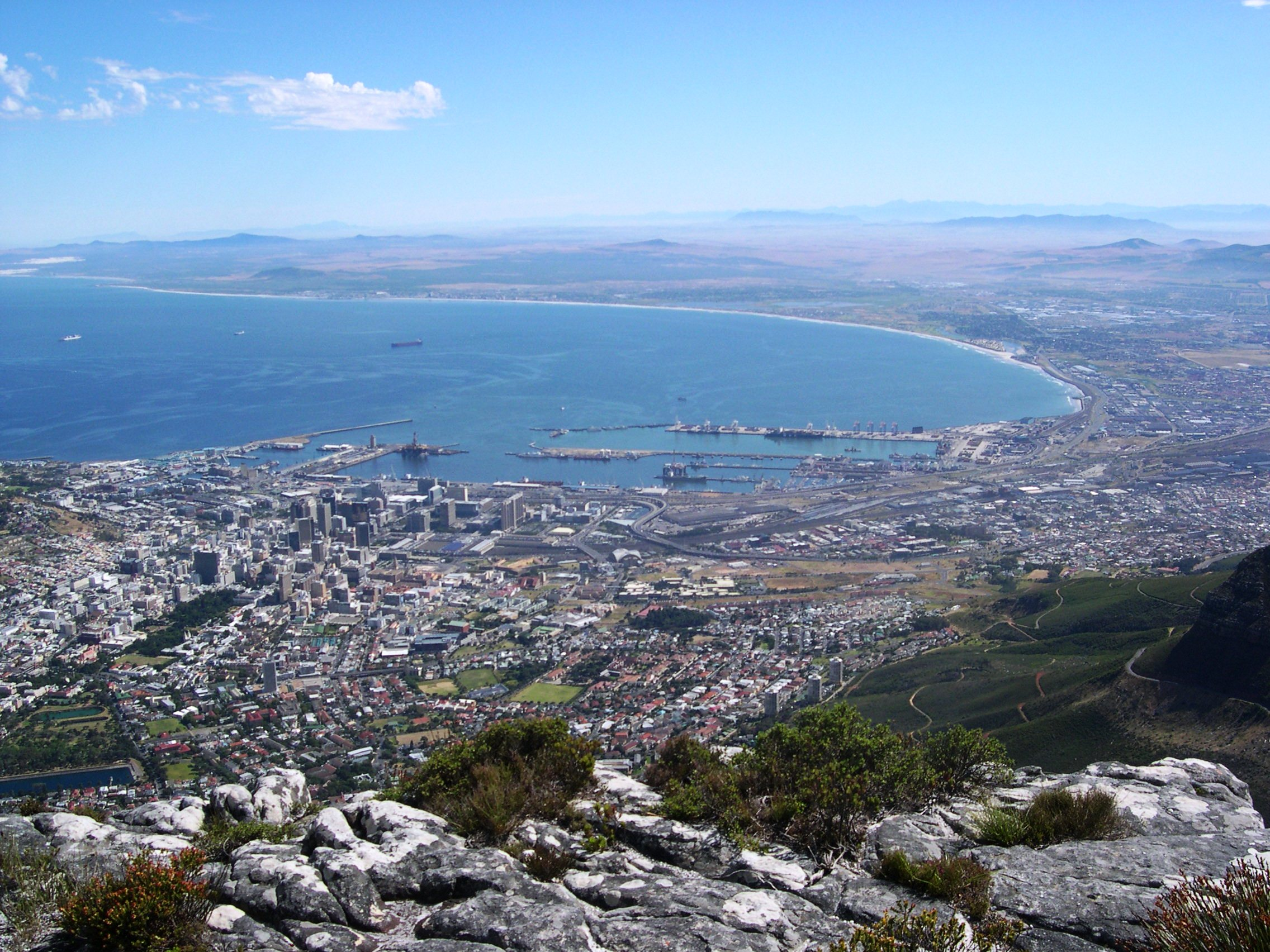 Cape Town - One of the large cities in Africa