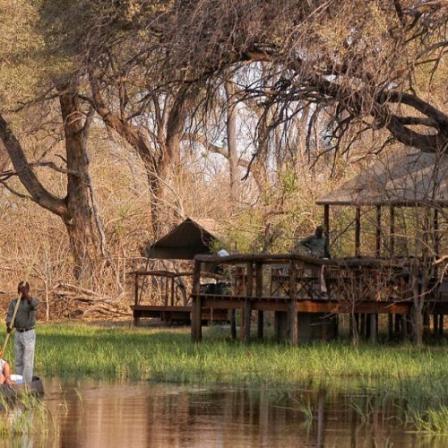 Khwai Tented Camp Mokoro Excursion