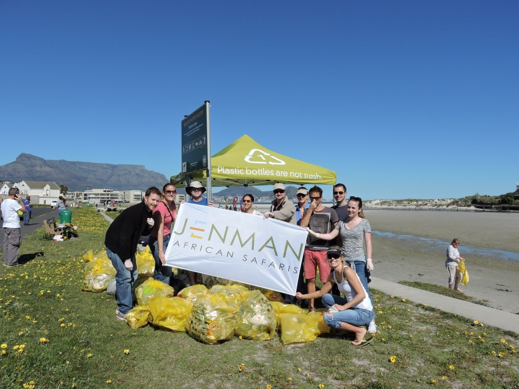 Jenman joins International Coastal Clean-up Day