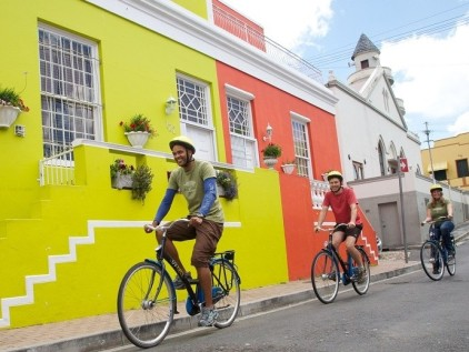 The beautiful Bo Kaap is also known as the Malay Quarter.