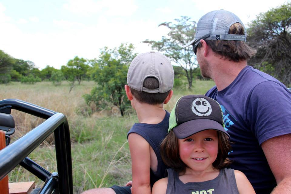 A game drive with the little ones can be an exciting affair