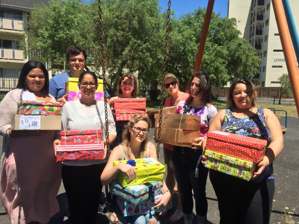 Jenman African Safaris joins the Santa Shoebox Project