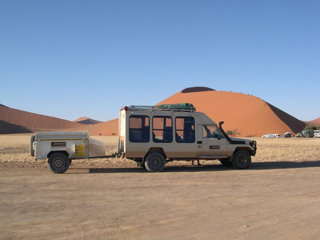 Jenman African Safaris in Namibia