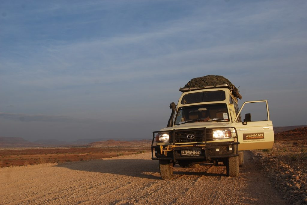 discovering Namibia
