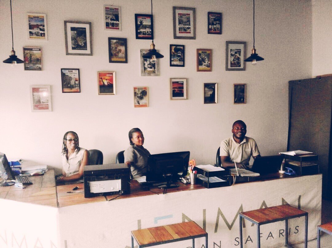 Our Brand Spanking New Victoria Falls Office