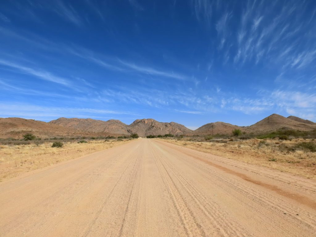 Itinerary Changes Due to Road Conditions in Namibia