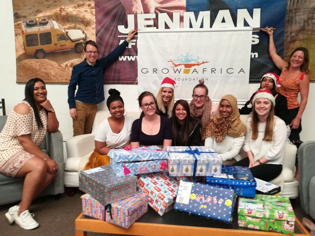 Grow Africa Spreads Joy with the Santa Shoebox Project
