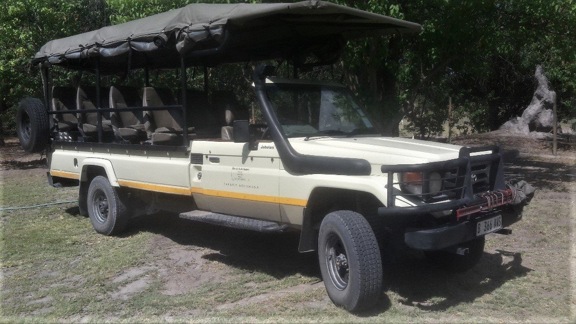 Introducing Jabulani our Amazing Botswana Land Cruiser