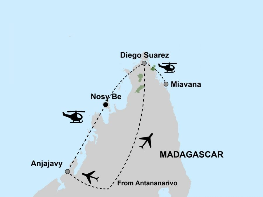 Madagascar in Style Map