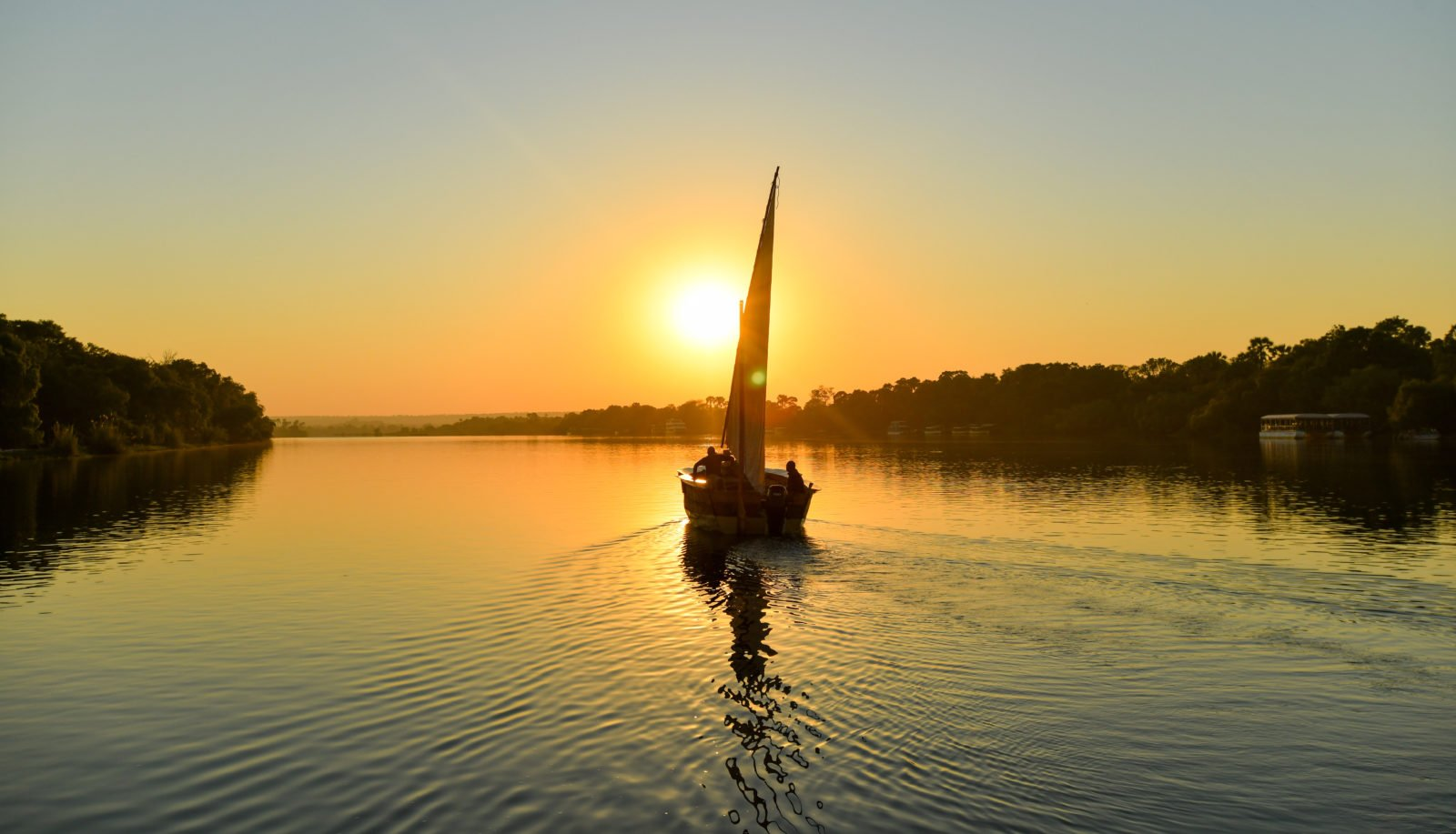 New Experience in Victoria Falls: Zambezi Truth Dhows on the Zambezi 1