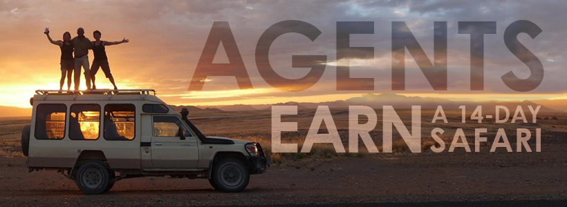 BOOK 10 PAX AND YOU & YOUR PARTNER  CAN ENJOY A FREE 14-DAY SAFARI IN SOUTHERN AFRICA 2