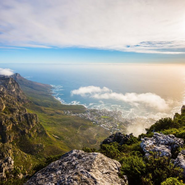 National Park Table Mountain South Africa, Cape Town. View
