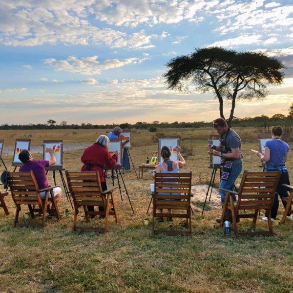 Art of Africa, Elephant's Eye | Hwange, Zimbabwe