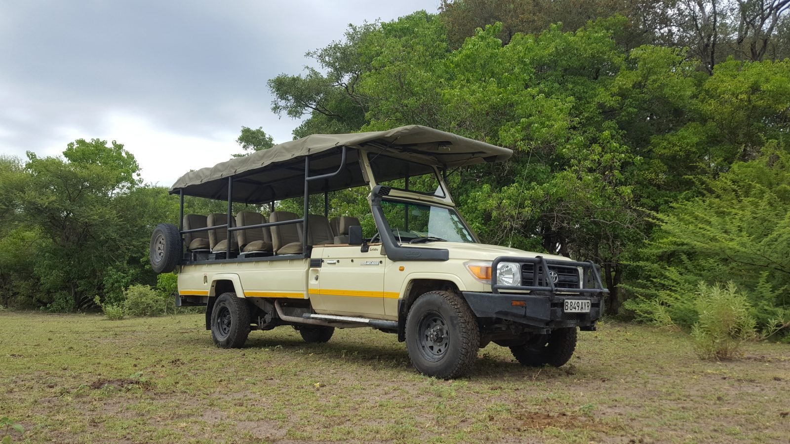 Jenman African Safaris | Vehicles | Botswana 4x4 Toyota Land Cruiser