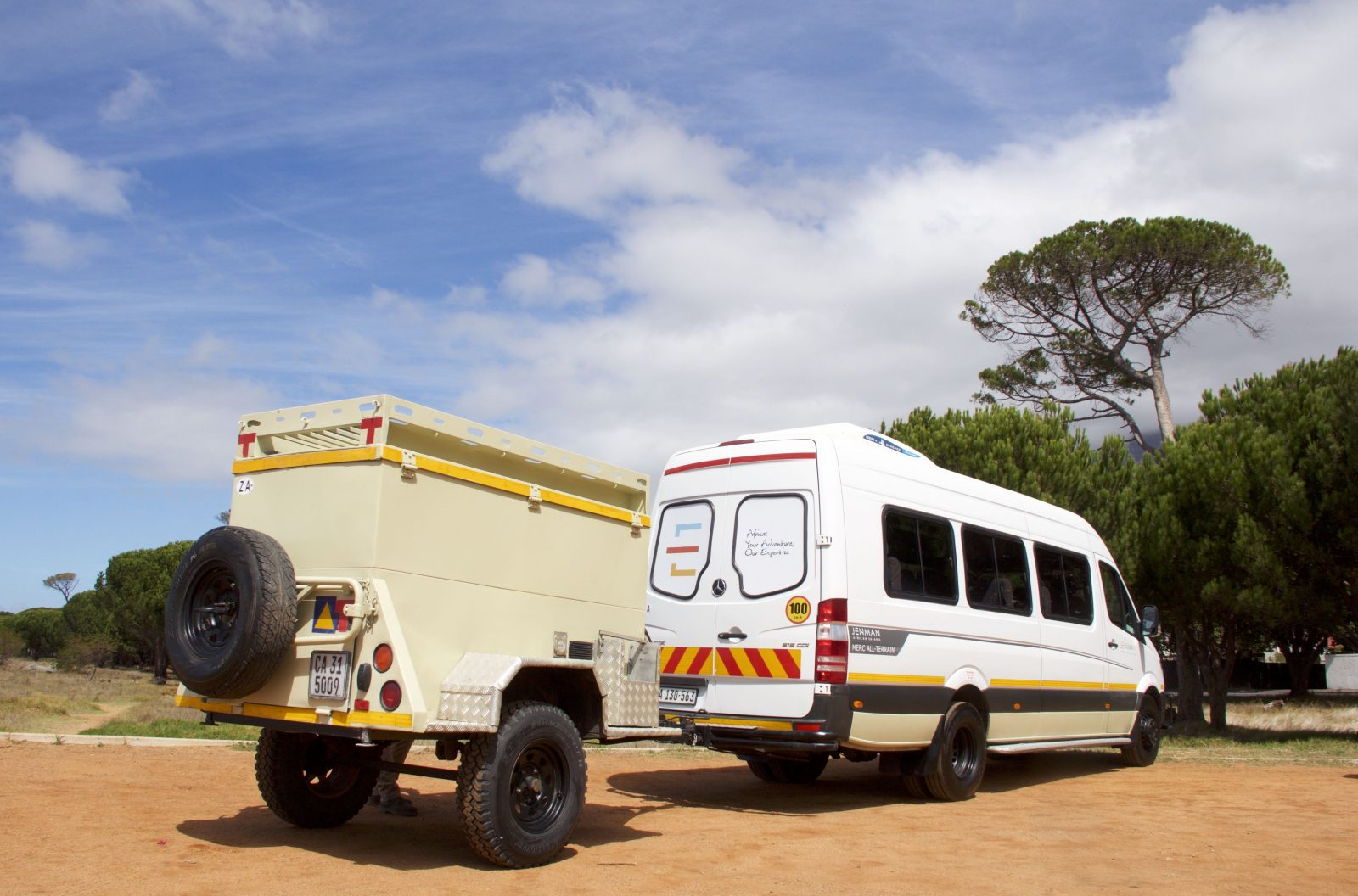 Jenman African Safaris | Vehicles | Mercedes All-Terrain