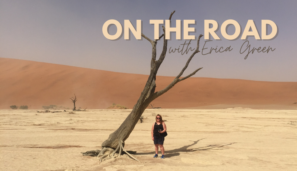 On the road with Erica Green