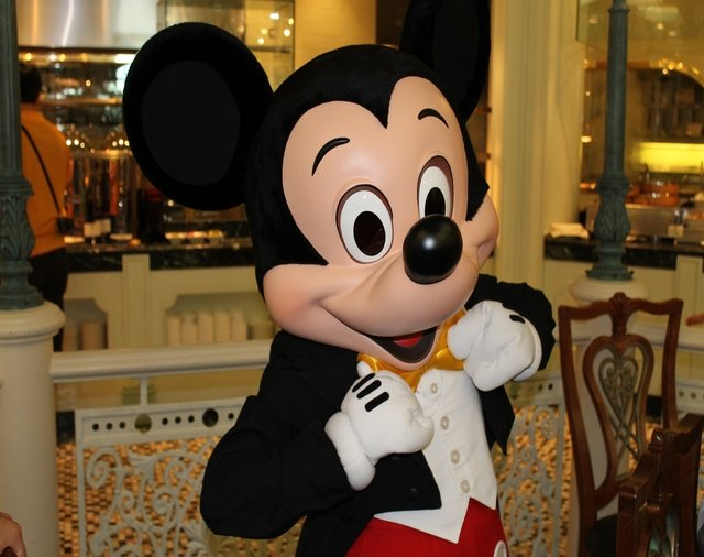 Mickey Mouse - one of Disney's most famous characters